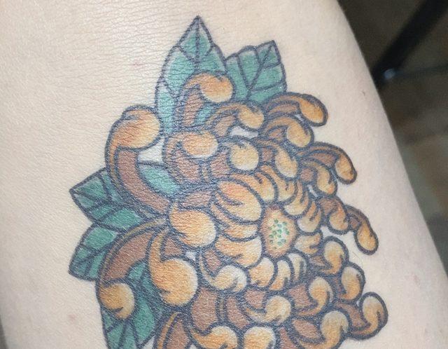 タトゥーの意味(お花編)